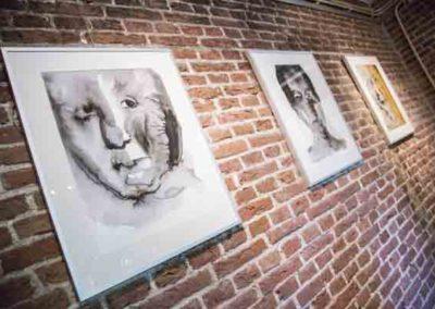 Werk van Diana Hoekstra te bezichtigen in Galerie het Kruithuisje te Alkmaar