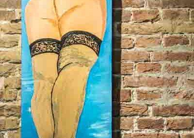 Werk van Steven Dijk te bezichtigen in Galerie Het Kruithuisje te Alkmaar