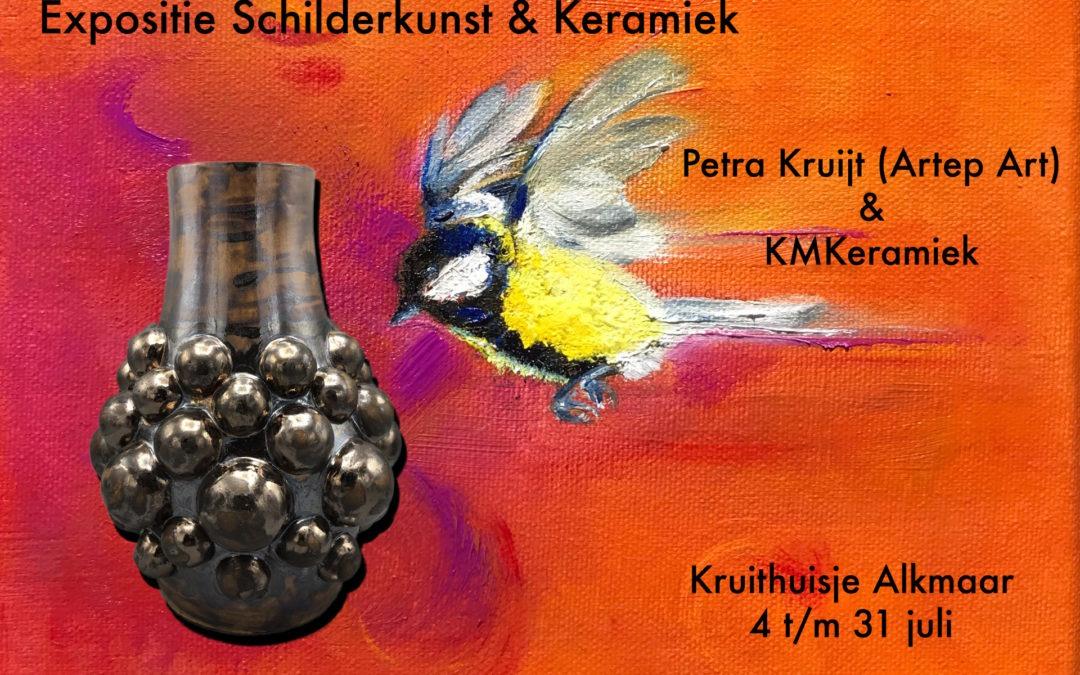 Petra Kruijt (Artep Art) & KMKeramiek – Juli 2020